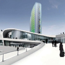 Arnhem Central Masterplan and Train Station