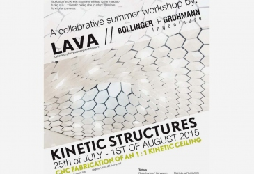 INVITATION TO LAVA WORKSHOP STUTTGART