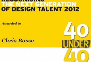 Bosse wins Perspective 40 Under 40 Award