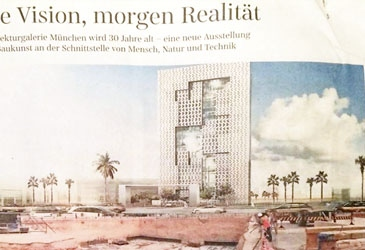 Süddeutsche story on VISIONAREALITY exhibition