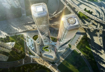 Zhejiang Gate Tower plans unveiled