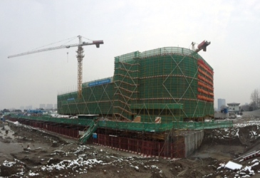 Zheijang Gate progress