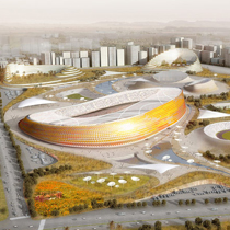 Addis Ababa National Stadium and Sports Village german